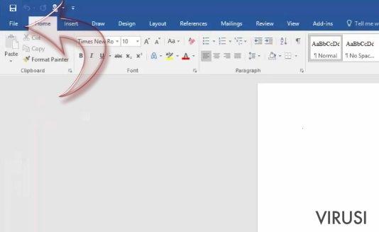 Kako onemogućiti makro naredbe za Windows i Mac OS X? fotografija