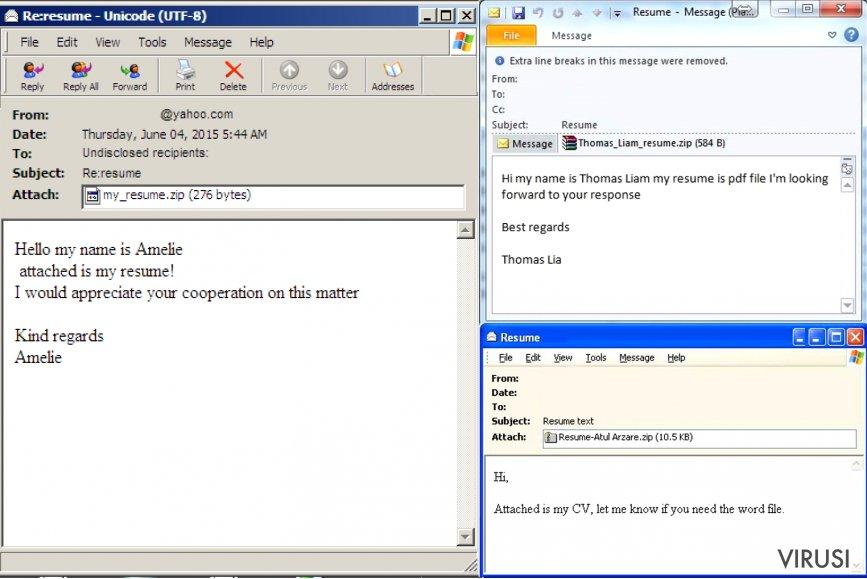 Kako identificirati e-poštu zaražen virusom? fotografija