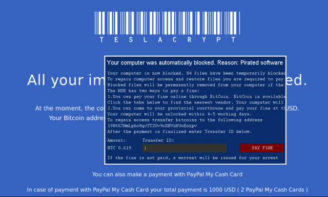 Ransomware: websites & banks among the latest targets