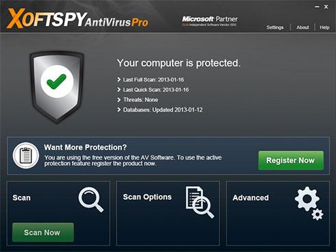 XoftSpySE Anti Spyware fotografija