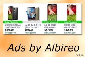 Albireo reklame