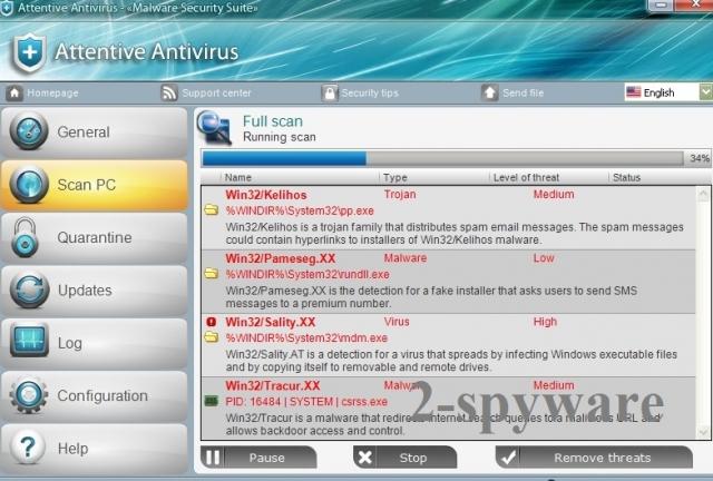 Attentive Antivirus fotografija