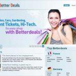 Better Deals reklame fotografija