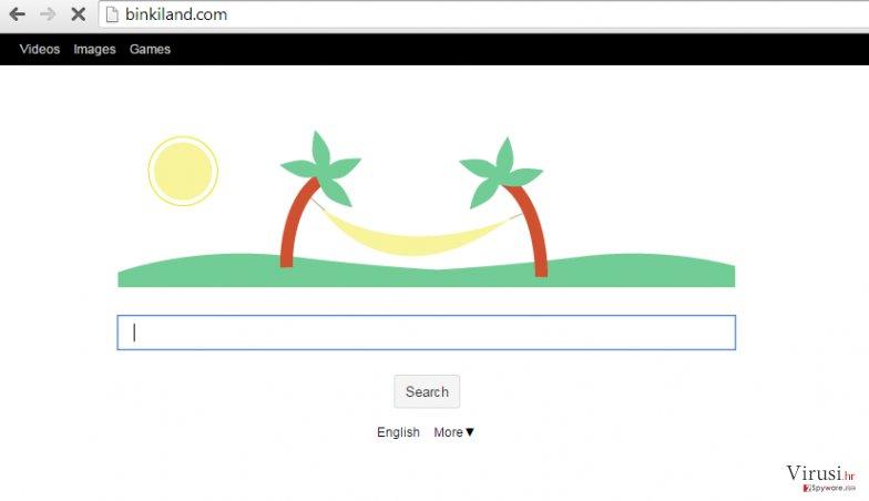 Binkiland.com virus fotografija