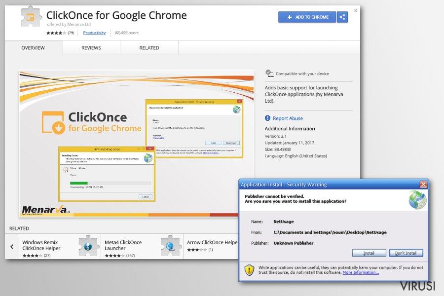 Chrome, virus koji preusmjerava fotografija