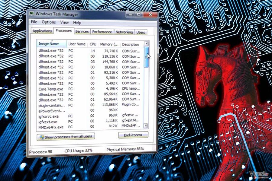 COM surrogate virus fotografija