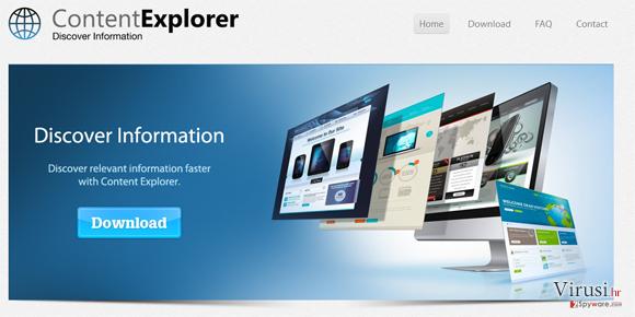 Content Explorer fotografija