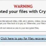 Virus Crypt0L0cker fotografija