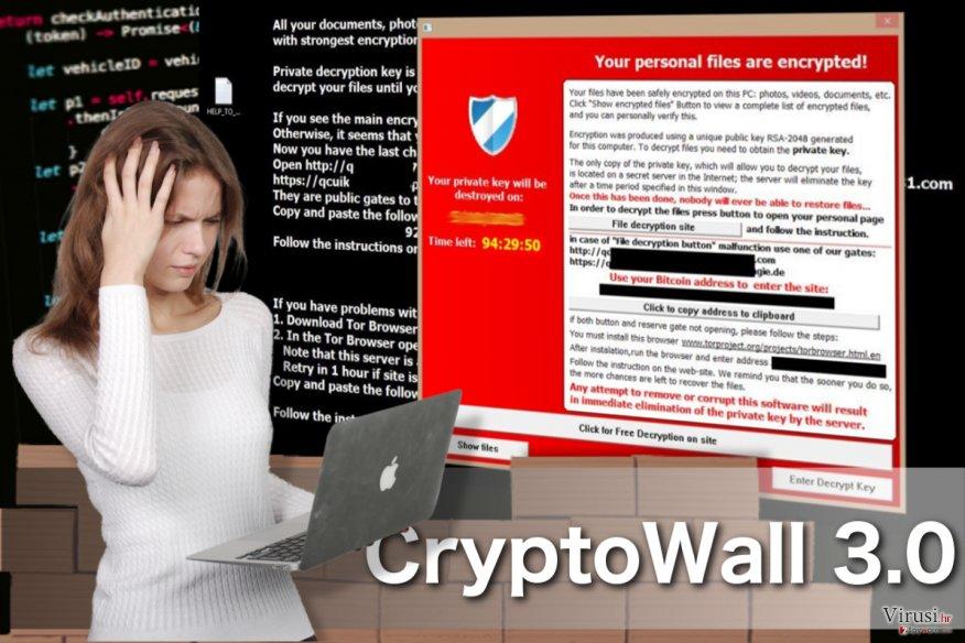 CryptoWall 3.0 virus fotografija
