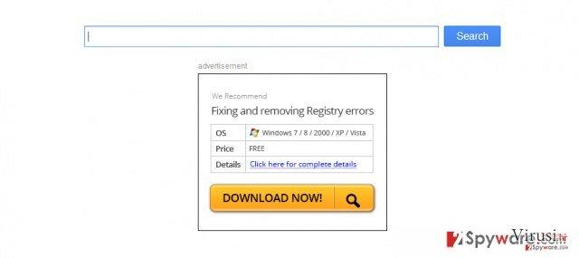 Virus koji preusmjerava Firefox fotografija