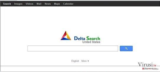 Delta-search.com preusmjerenje fotografija
