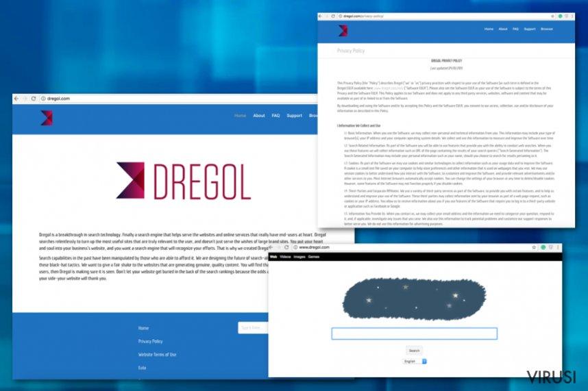 Preusmjeravanje stranice Dregol.com fotografija