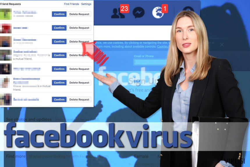 Virus Facebook Friend Request