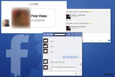 Primjeri Facebook Message virusa