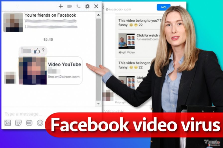 Virus Facebook video