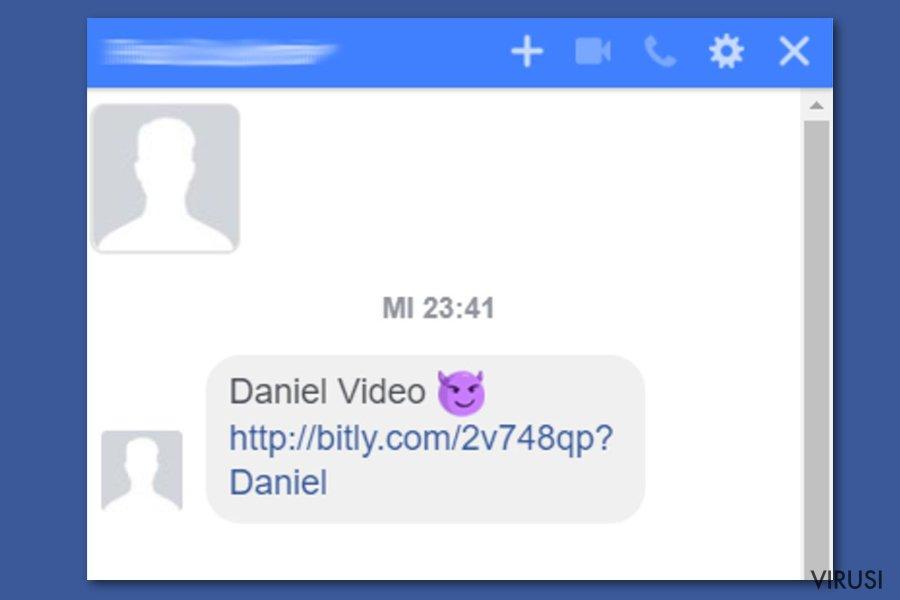 Virus Facebook video