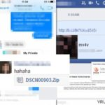 Facebook virus fotografija