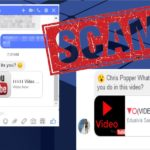 Facebook Message virus fotografija