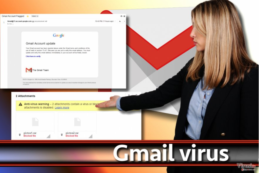 Slika Gmail virusa