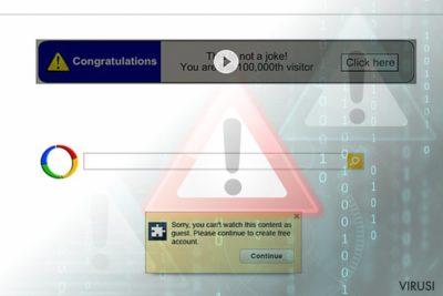 Virus Google preusmjeravanja (rezultati pretrage)