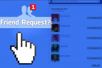 Virus Facebook Friend Request nepoznatim ljudima šalje zahtjev za prijateljstvo