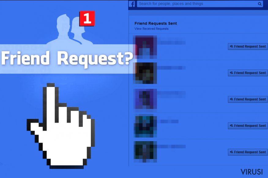 Virus Facebook Friend Request