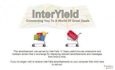 InterYield pop-up ads
