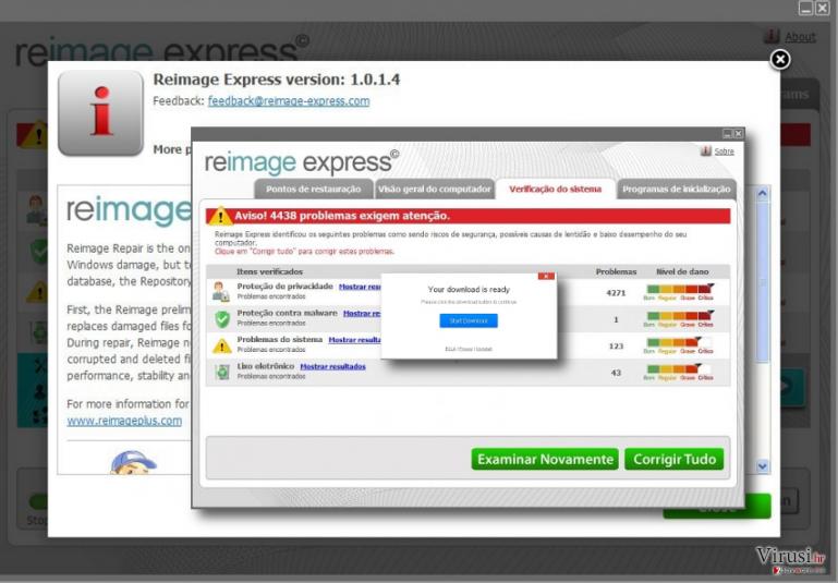 Reimage Express malware