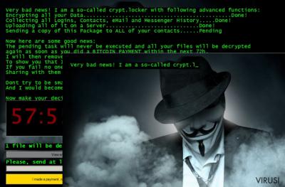 Jigsaw ransomware virus