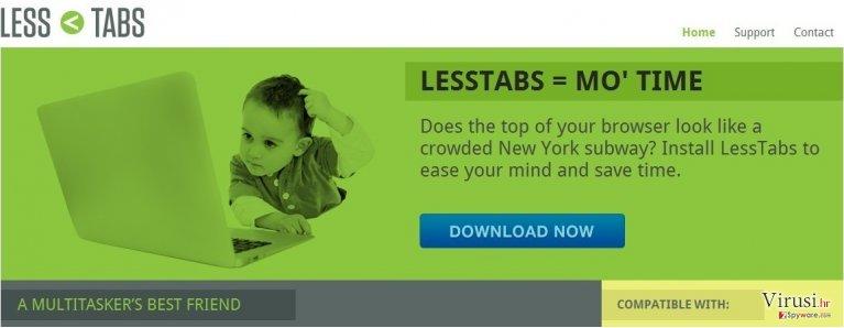 Less Tabs fotografija