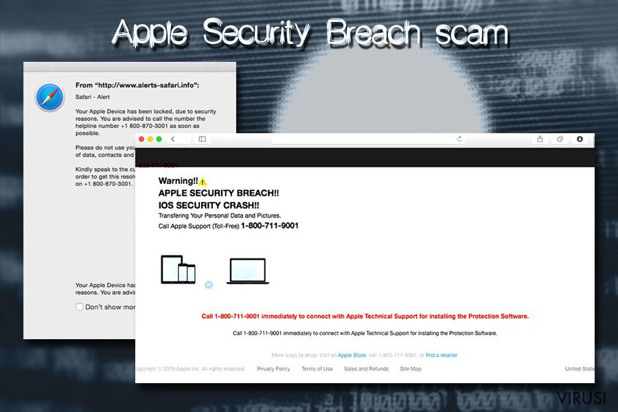 Mac virus - Apple Security Breach