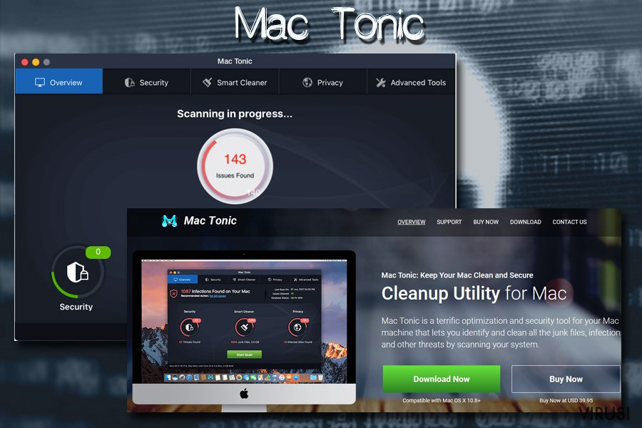 Mac virus Mac tonic