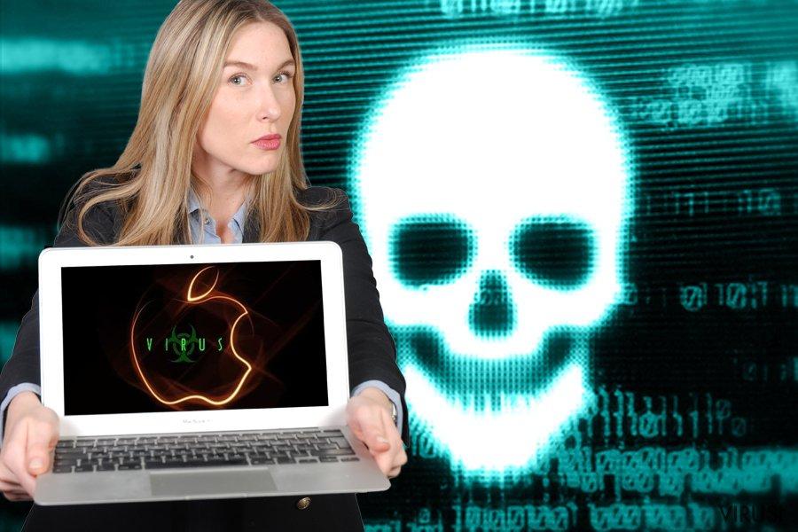 Uništavanje Mac virusa