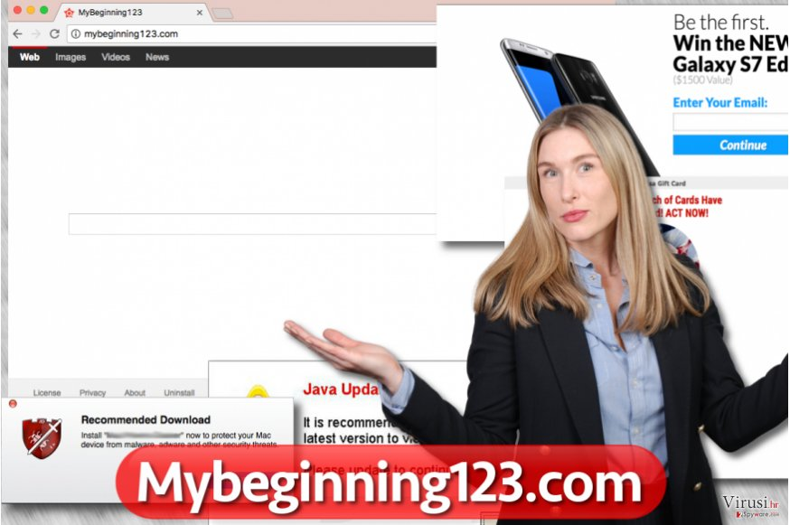 Virus Mybeginning123.com