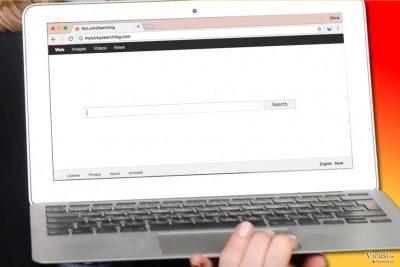 Virus MyLuckySearching.com u računalu