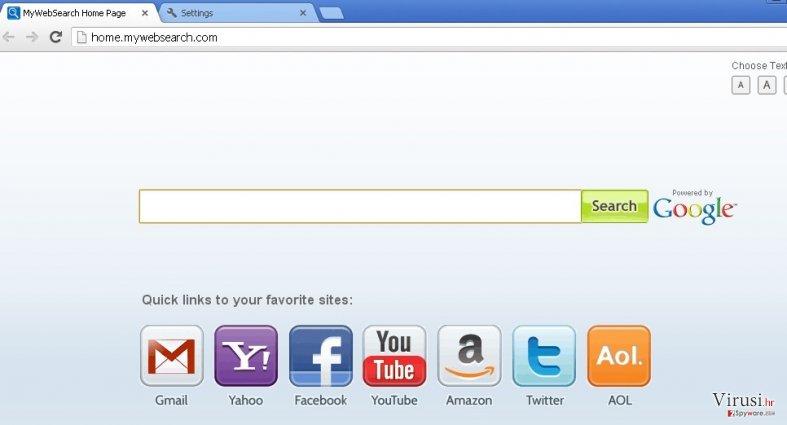 mywebsearch.com fotografija