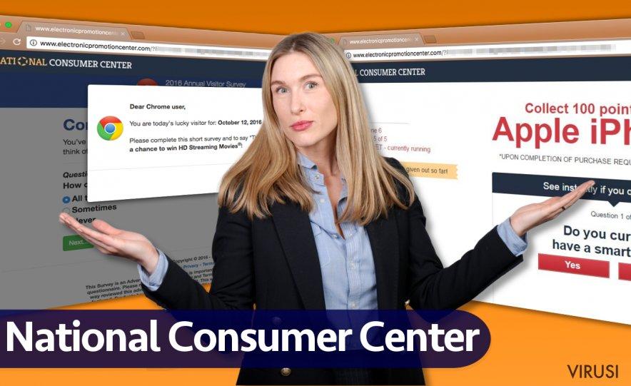 Reklame virusa National Consumer Center