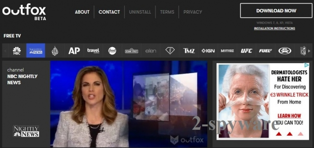 Outfox TV fotografija