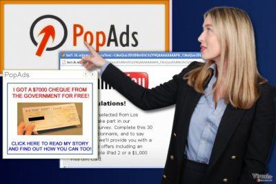 Reklame virusa PopAds
