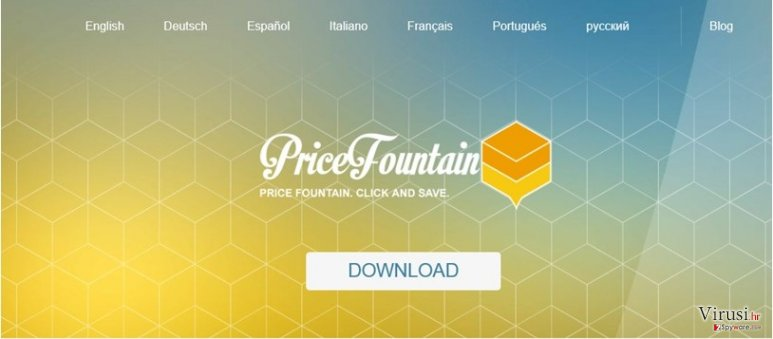 PriceFountain virus