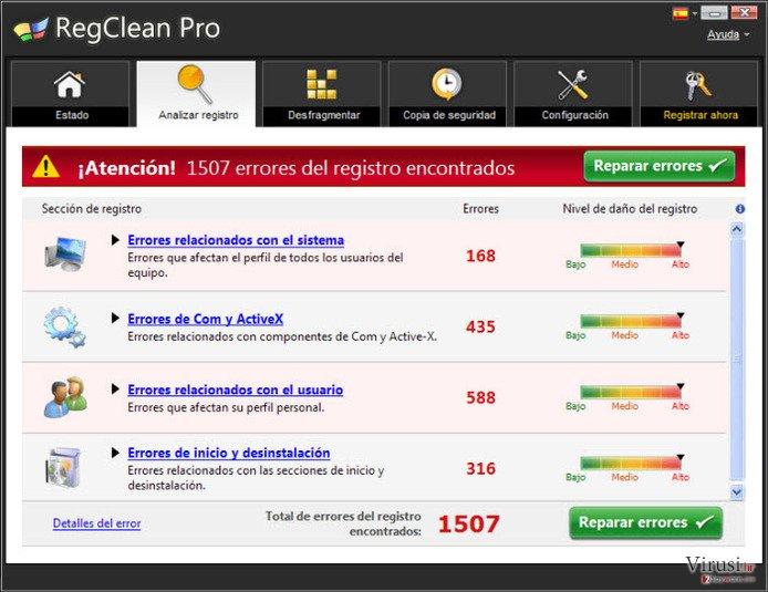 RegClean Pro fotografija