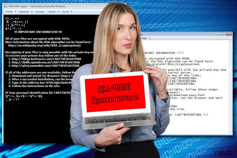 RSA-4096 Ransomware fotografija