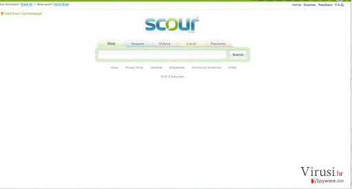 Scour Virus fotografija
