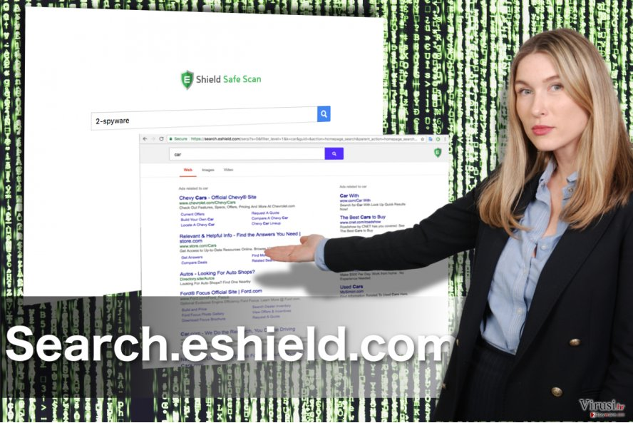 Search.eshield.com redirect fotografija