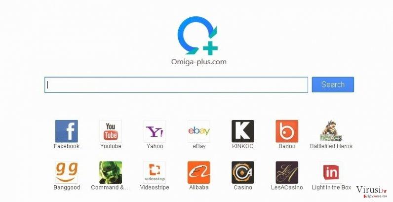 Virus Searches.omiga-plus.com fotografija