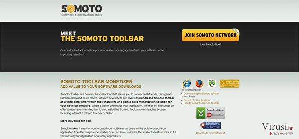 Somoto Toolbar fotografija