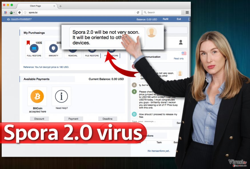 Virus Spora 2.0