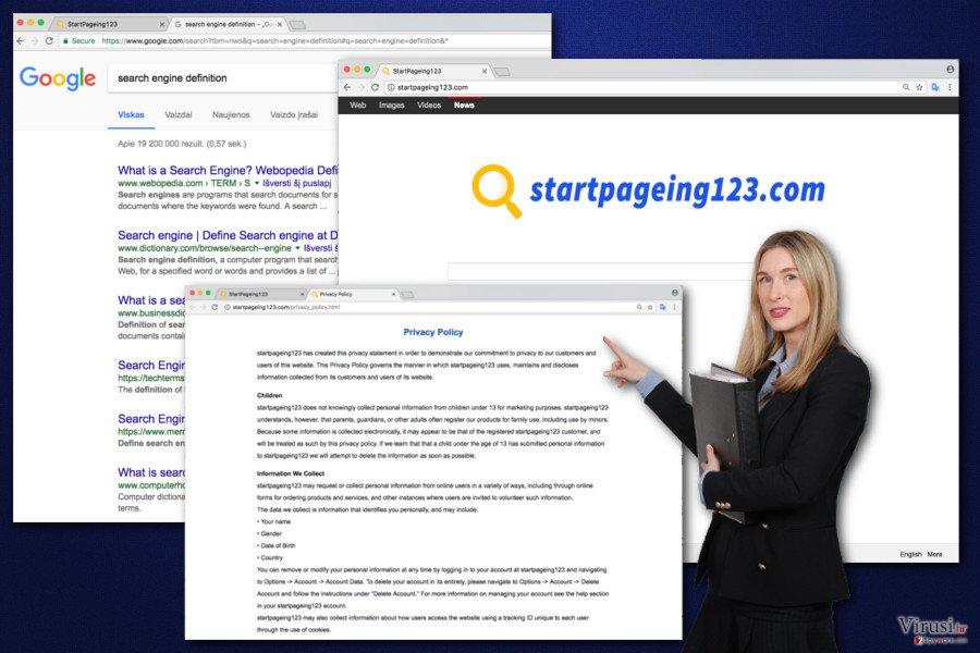 Slika virusa StartPageing123