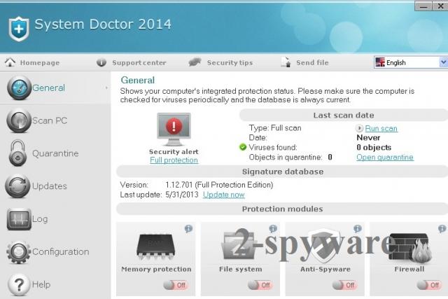 System Doctor 2014 fotografija