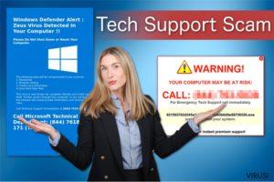Virus Tech Support Scam